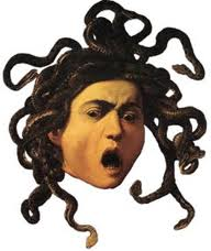 women writing medusa